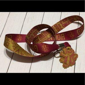 Harry Potter Gryffindor Lanyard/Key Chain